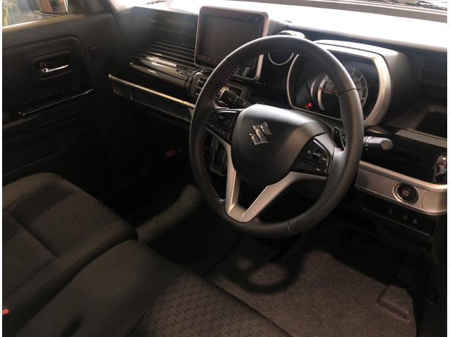 ハイブリッドXSターボ 届出済未使用車 Mz新車コンプリート ダウンサスVer フロントエアロ リヤエアロ ダウンサス カッターマフラー 16インチAW(24枚目)