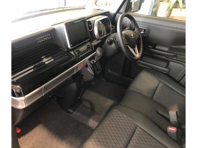 ハイブリッドXSターボ 届出済未使用車 Mz新車コンプリート ダウンサスVer フロントエアロ リヤエアロ ダウンサス カッターマフラー 16インチAW(25枚目)
