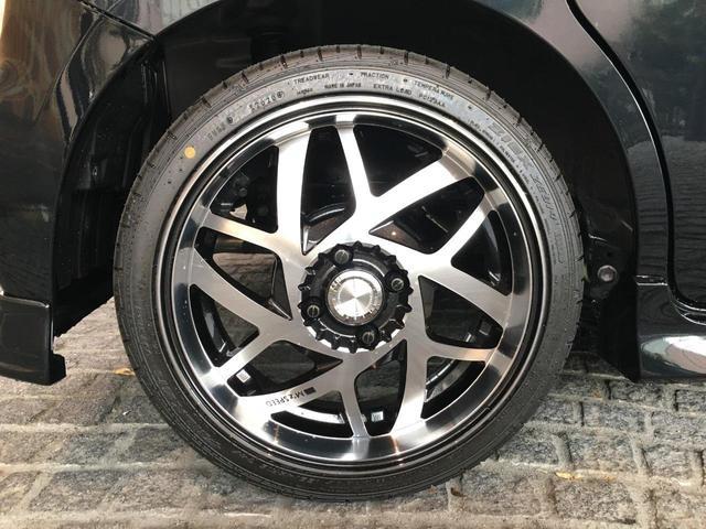 ハイブリッドXSターボ 届出済未使用車 Mz新車コンプリート ダウンサスVer フロントエアロ リヤエアロ ダウンサス カッターマフラー 16インチAW(32枚目)