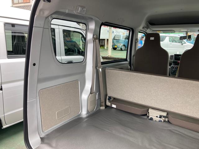 DX 5速マニュアル パワーステアリング エアコン Wエアバック 2WD 届出済未使用車 社外バイザー 社外マット 最大積載量350kg(20枚目)