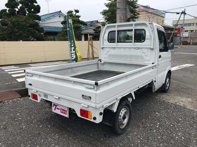 オートマ エアコン パワステ 軽トラック ホワイト(5枚目)