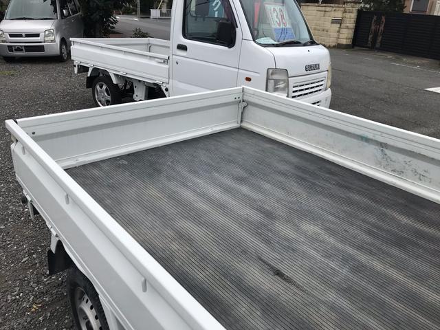 オートマ エアコン パワステ 軽トラック ホワイト(8枚目)