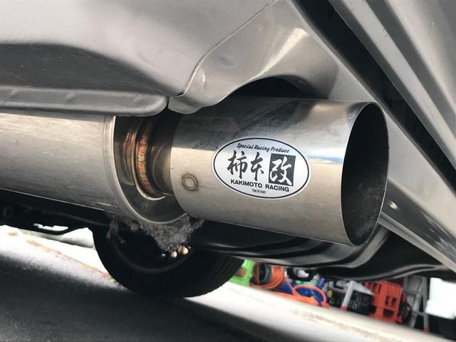 RB25改 バケット 車高調 15AW マフラー(9枚目)