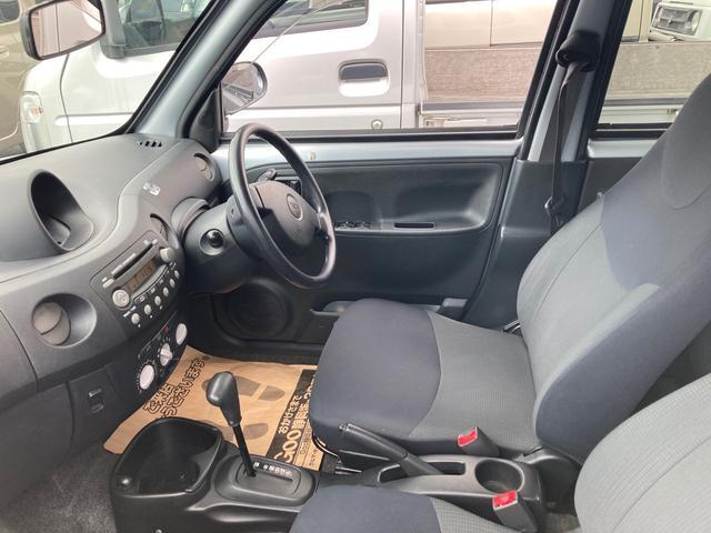 Dセレクション オートマ エアコン パワステ パワーウインドウ 5ドア 車検整備付き 軽自動車 シルバー(3枚目)