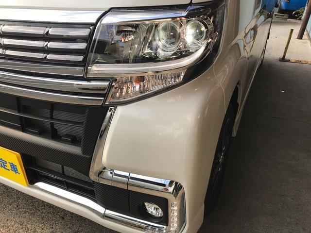 ダイハツ タント カスタムX トップエディションSAIII 新品ナビ付 TV付