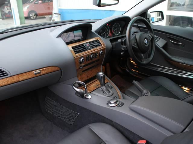BMW BMW 645Ci 黒革シート サンルーフ 正規ディーラー車