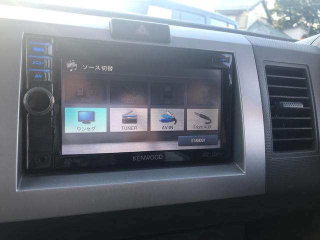 スズキ ワゴンR FT-Sリミテッド 社外SDナビ 地デジTV ETC