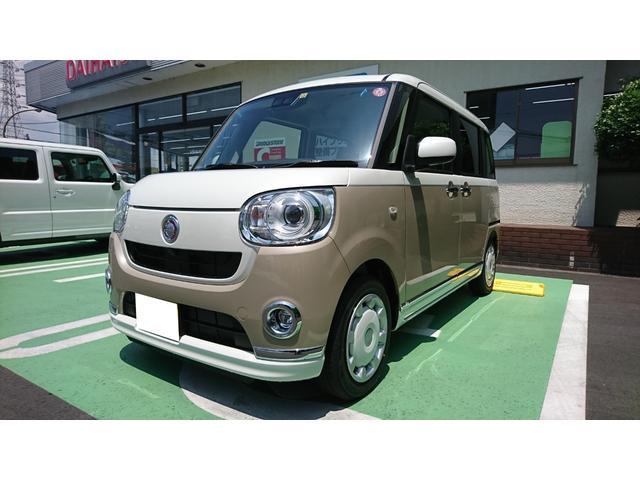 「ダイハツ」「ムーヴキャンバス」「コンパクトカー」「静岡県」の中古車6