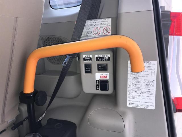 スローパーL福祉車両 リアシート付 スロープ 電動ウィンチ リモコン付 車いす1名+2名 通常4名乗車 全国1年保証(36枚目)