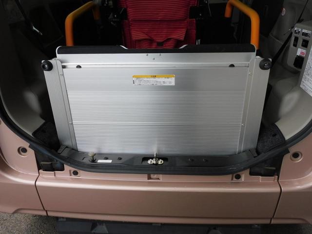 福祉装置点検済 福祉車両スロープ 車いす1基積み 通常4名乗車 車いす1名と3名乗車 スローパー リモコン式電動ウィンチ キーレス リアシート脱着可能 全国登録手数料込み 全国対応1年保証付き(50枚目)