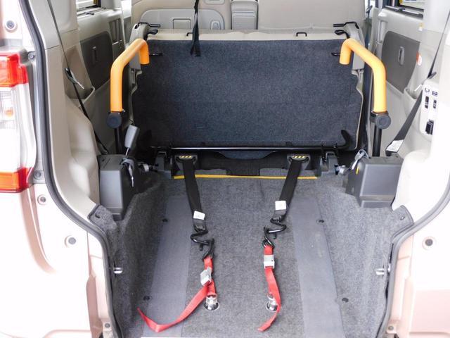 福祉装置点検済 福祉車両スロープ 車いす1基積み 通常4名乗車 車いす1名と3名乗車 スローパー リモコン式電動ウィンチ キーレス リアシート脱着可能 全国登録手数料込み 全国対応1年保証付き(51枚目)