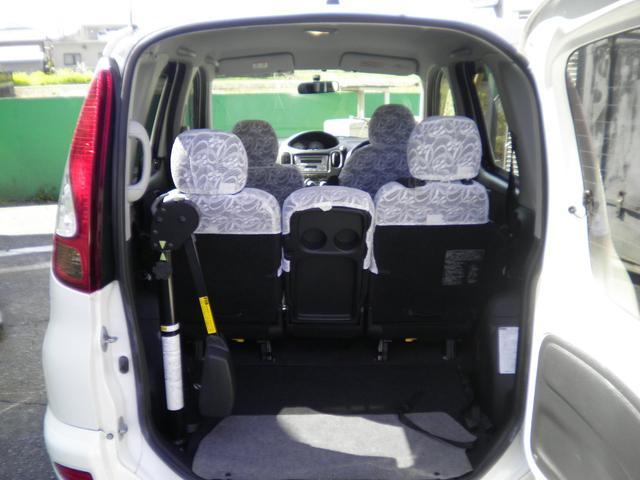 G 助手席回転スライドシート Bタイプ 手動車いす収納装置付(6枚目)