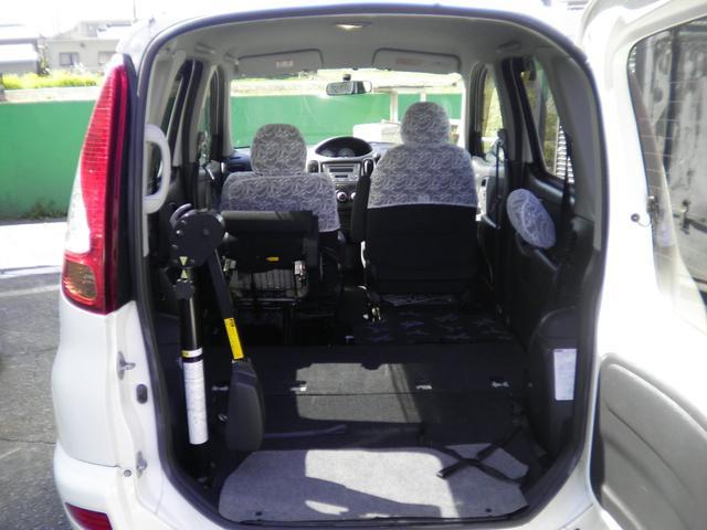 G 助手席回転スライドシート Bタイプ 手動車いす収納装置付(7枚目)