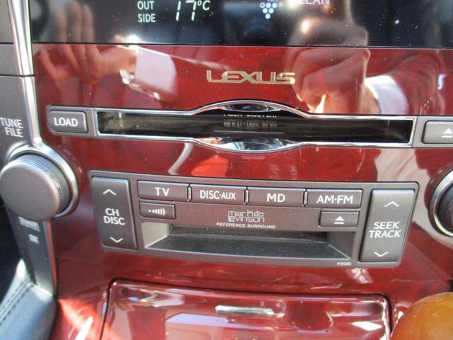 レクサス LS LS600hL 純正HDD 後席モニター 黒本革 サンルーフ