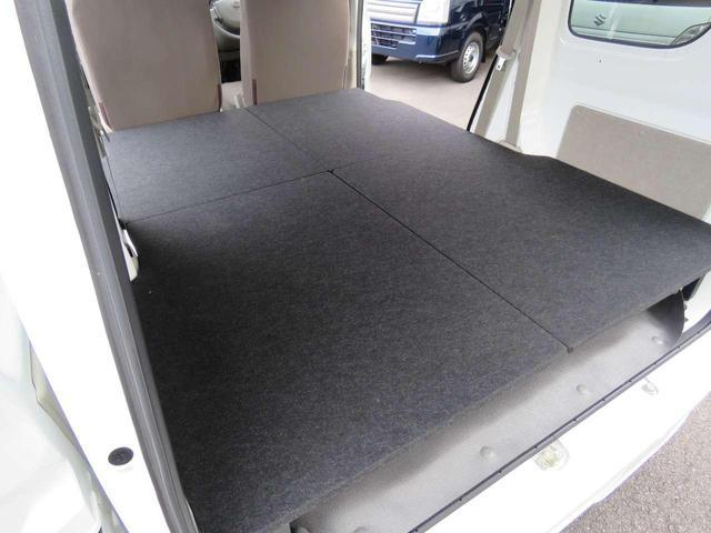 DX GLエマージェンシーブレーキパッケージ 4WD 届出済未使用車 車中泊ベッドキット付(27枚目)