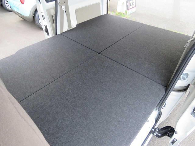 DX GLエマージェンシーブレーキパッケージ 4WD 届出済未使用車 車中泊ベッドキット付(28枚目)