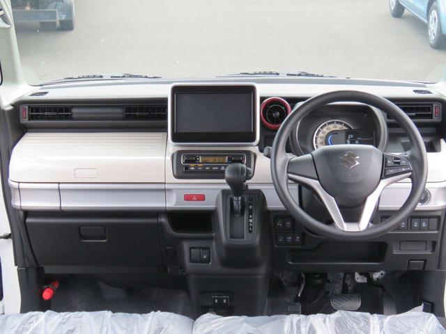 HYBRID X LEDライト付 両電スライド 黒内装 メーカー保証継承付届出済未使用車(9枚目)