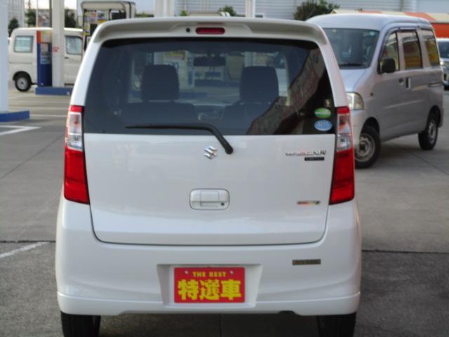スズキ ワゴンR FXリミテッド 保証付 スマートキー 禁煙車 CD
