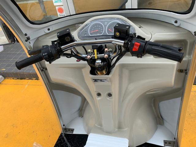 AP trikes125 新車 遠心クラッチ式4AT 3人乗(11枚目)