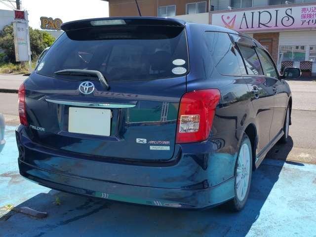 トヨタ カローラフィールダー 1.5X エアロツアラー アルミホイール