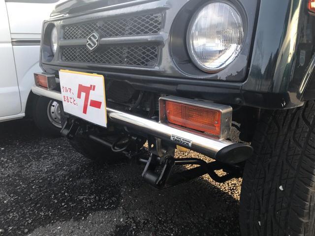スズキ ジムニー ワイルドウインドリミテッド ウッドハンドル 背面タイヤ