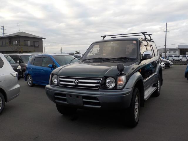 「トヨタ」「ランドクルーザープラド」「SUV・クロカン」「静岡県」の中古車2