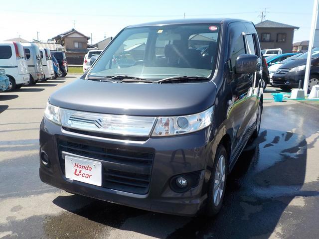 「スズキ」「ワゴンRスティングレー」「コンパクトカー」「静岡県」の中古車3