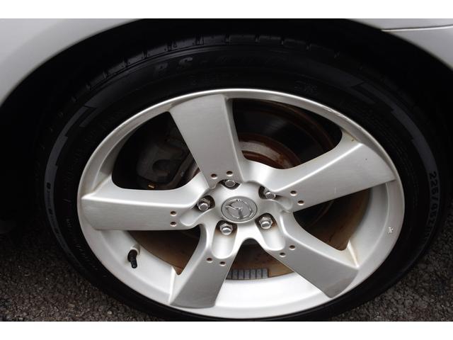 タイプS マツダスピードマフラー 6速マニュアル HID 225/45/18 18インチアルミホイール オートエアコン 圧縮測定済み ABS BOSE 禁煙車 ETC 電動格納ドアミラー ステアリングリモコン(33枚目)