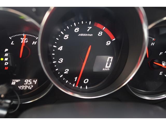 タイプE 前期最終モデル 6速オートマ クルーズコントロール HID ブラックレザーシート アドバンストキーレス カロッツェリアHDDナビ&ディスプレイオーディオ テレビ DVDビデオ再生可 圧縮測定済み(16枚目)