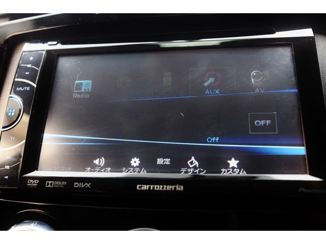 タイプE 前期最終モデル 6速オートマ クルーズコントロール HID ブラックレザーシート アドバンストキーレス カロッツェリアHDDナビ&ディスプレイオーディオ テレビ DVDビデオ再生可 圧縮測定済み(24枚目)