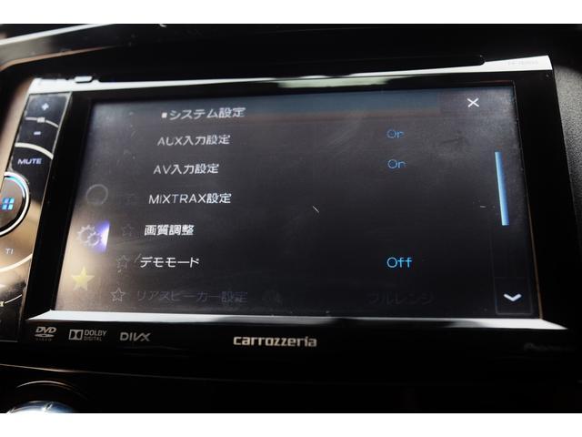 タイプE 前期最終モデル 6速オートマ クルーズコントロール HID ブラックレザーシート アドバンストキーレス カロッツェリアHDDナビ&ディスプレイオーディオ テレビ DVDビデオ再生可 圧縮測定済み(25枚目)
