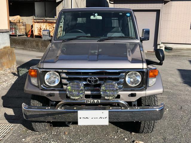 「トヨタ」「ランドクルーザー70」「SUV・クロカン」「静岡県」の中古車3