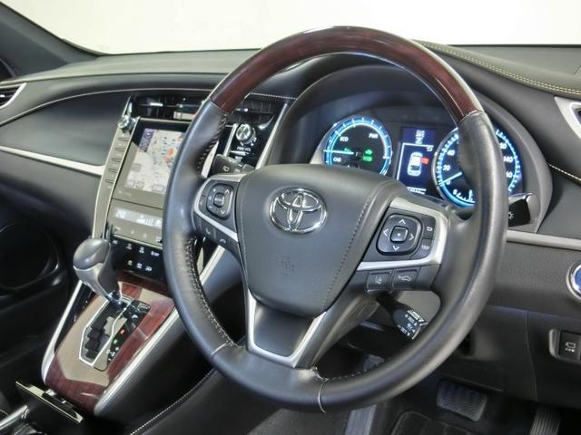 「トヨタ」「ハリアーハイブリッド」「SUV・クロカン」「静岡県」の中古車17