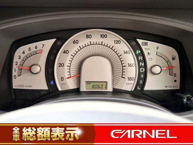 【メーター】現在の走行距離80,601kmでございます。