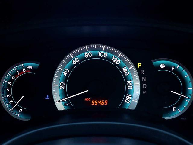 【メーター】現在の走行距離95,469kmでございます。
