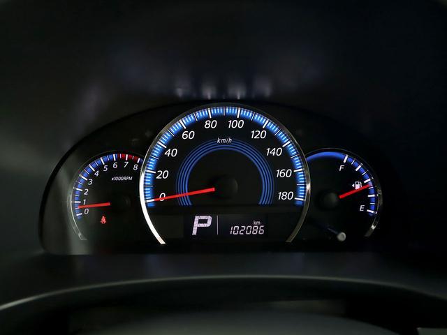 【メーター】現在の走行距離は102086kmでございます。