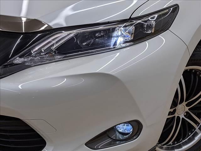 LEDヘッドライト装備。夜道も明るく照らします。