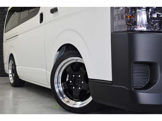 トヨタ ハイエースバン ロングDX  ボンネット AW エアロ LD ウィング