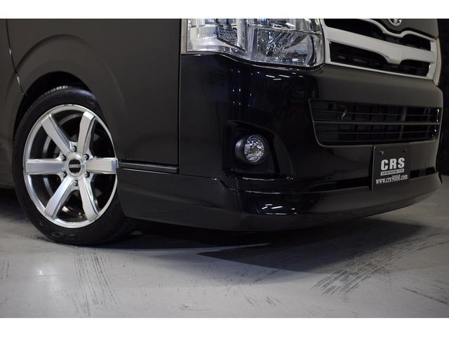ロングスーパーGL ・CRSユーズドコンプリートカー入庫・ESSEX18インチAW・フロントリップスポイラー・純正OPナビ・アルパイン後席モニター・ESSEXシートカバー・LEDテールランプ・HIDヘッドライト(7枚目)