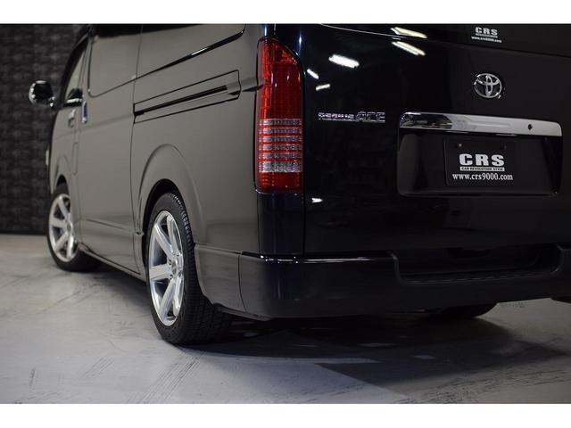 ロングスーパーGL ・CRSユーズドコンプリートカー入庫・ESSEX18インチAW・フロントリップスポイラー・純正OPナビ・アルパイン後席モニター・ESSEXシートカバー・LEDテールランプ・HIDヘッドライト(12枚目)