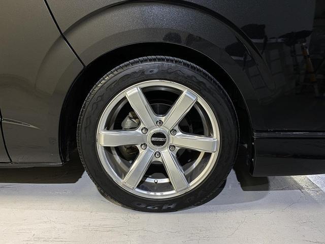 ロングスーパーGL ・CRSユーズドコンプリートカー入庫・ESSEX18インチAW・フロントリップスポイラー・純正OPナビ・アルパイン後席モニター・ESSEXシートカバー・LEDテールランプ・HIDヘッドライト(35枚目)