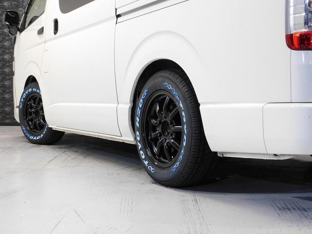 ロングDX GLパッケージ FリップスポイラーVer4・ファブレスヴァローネ16インチAW・ローダウン・シートカバー・ケンウッドSDナビゲーション・ETC・TSS・モデリスタLEDカーゴライト(15枚目)