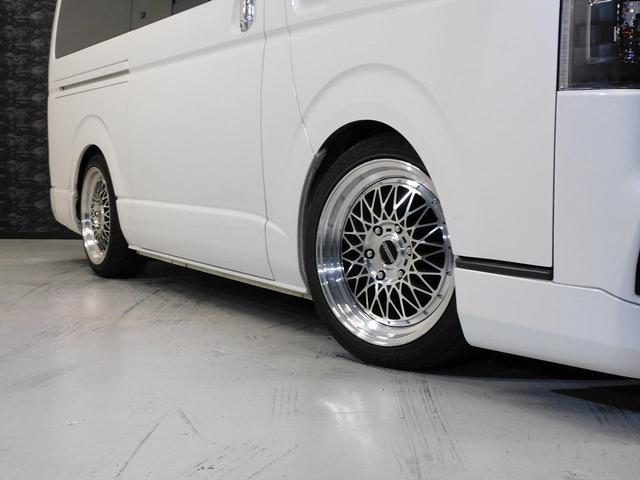 ロングスーパーGLプライムセレ CRSユーズドコンプリートカー入庫・4型フェイスチェンジ・ヴァレンティーLEDヘッドライト・ESSEX18インチAW・エアロバンパー・Fリップスポイラー・ケンウッドSDナビ・シートカバー・ベットキット(6枚目)
