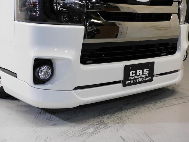 ロングスーパーGLプライムセレ CRSユーズドコンプリートカー入庫・4型フェイスチェンジ・ヴァレンティーLEDヘッドライト・ESSEX18インチAW・エアロバンパー・Fリップスポイラー・ケンウッドSDナビ・シートカバー・ベットキット(8枚目)