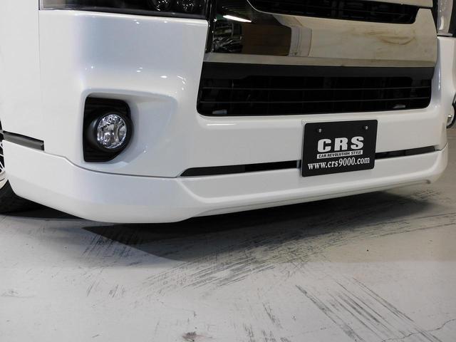 ロングスーパーGLプライムセレ CRSユーズドコンプリートカー入庫・4型フェイスチェンジ・ヴァレンティーLEDヘッドライト・ESSEX18インチAW・エアロバンパー・Fリップスポイラー・ケンウッドSDナビ・シートカバー・ベットキット(9枚目)