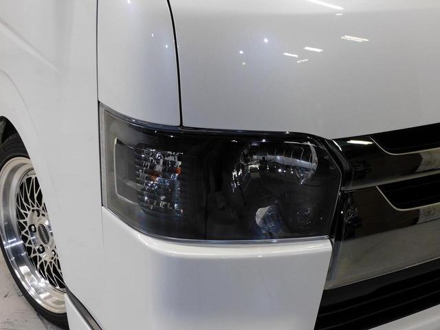 ロングスーパーGLプライムセレ CRSユーズドコンプリートカー入庫・4型フェイスチェンジ・ヴァレンティーLEDヘッドライト・ESSEX18インチAW・エアロバンパー・Fリップスポイラー・ケンウッドSDナビ・シートカバー・ベットキット(10枚目)