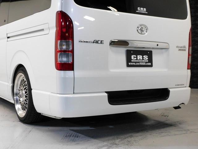 ロングスーパーGLプライムセレ CRSユーズドコンプリートカー入庫・4型フェイスチェンジ・ヴァレンティーLEDヘッドライト・ESSEX18インチAW・エアロバンパー・Fリップスポイラー・ケンウッドSDナビ・シートカバー・ベットキット(15枚目)