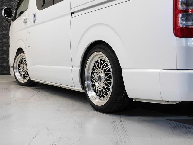 ロングスーパーGLプライムセレ CRSユーズドコンプリートカー入庫・4型フェイスチェンジ・ヴァレンティーLEDヘッドライト・ESSEX18インチAW・エアロバンパー・Fリップスポイラー・ケンウッドSDナビ・シートカバー・ベットキット(16枚目)