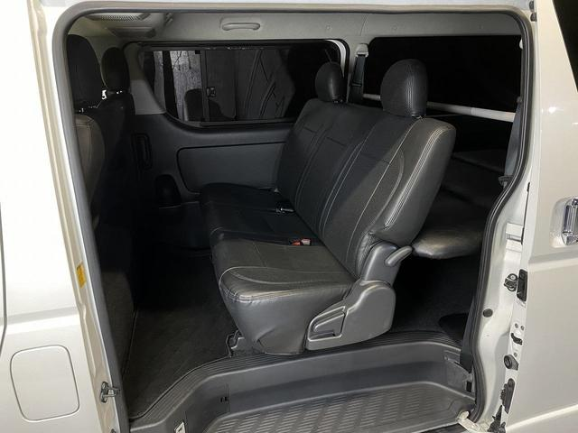 ロングスーパーGLプライムセレ CRSユーズドコンプリートカー入庫・4型フェイスチェンジ・ヴァレンティーLEDヘッドライト・ESSEX18インチAW・エアロバンパー・Fリップスポイラー・ケンウッドSDナビ・シートカバー・ベットキット(29枚目)