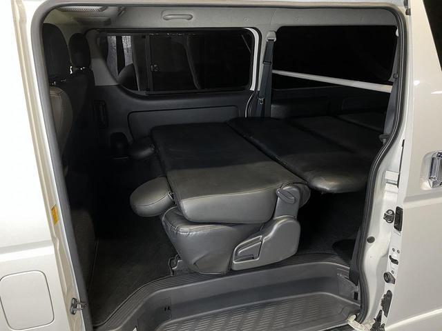 ロングスーパーGLプライムセレ CRSユーズドコンプリートカー入庫・4型フェイスチェンジ・ヴァレンティーLEDヘッドライト・ESSEX18インチAW・エアロバンパー・Fリップスポイラー・ケンウッドSDナビ・シートカバー・ベットキット(30枚目)